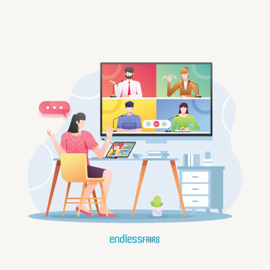Strengthen internal communication with online meetings